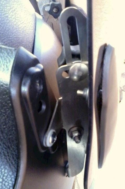 Soporte de pantalla regulable para Honda Varadero
