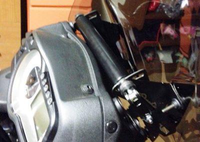 Soporte de pantalla regulable para Suzuki V-Strom 650 2012-2016